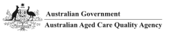 Logo for Australian Aged Care Quality Agency